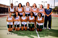 Spring Valley Tennis Portraits